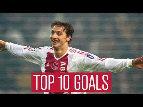 TOP 10 GOALS - Zlatan Ibrahimovic