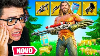 ENCONTREI TODAS AS NOVAS ARMAS MÍTICAS DA TEMPORADA 3 DO FORTNITE