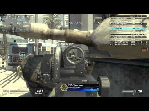 FHM 5000 Series - OpTic Gaming Vs FaZe Red - Game 1 Part 1 - May 11, 2014