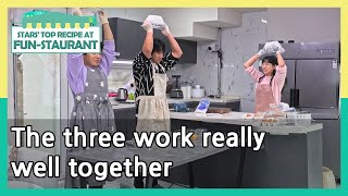 The three work really well together (Stars&#39 Top Recipe at Fun-Staurant)  KBS WORLD TV 210323