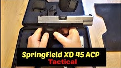 Springfield XD 45 acp 5 inch Barrel Tactical and safety features