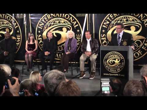 2014 International Sports Hall Of Fame Dr.  Bob Goldman Host