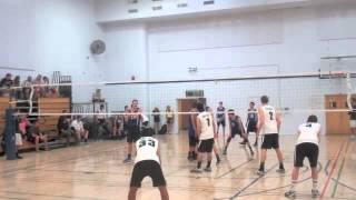 Jack Cole #2  NCVA power league 1  Oct 6 2013 Volleyball Highlights