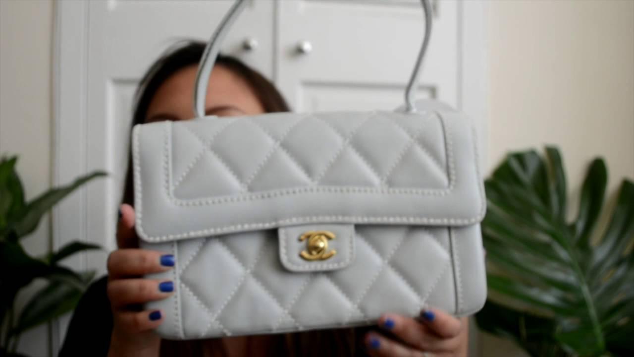 16482db92eb3 Fashionphile Unboxing Chanel Kelly Bag - YouTube