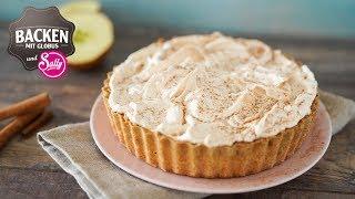 Glutenfreier Apfelkuchen mit Baiserhaube | Backen mit Globus & Sallys Welt #66 #BMGSally