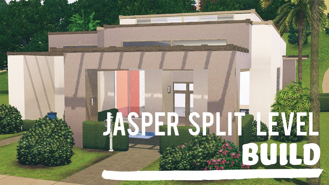 The sims 3 speed build split level jasper youtube for 3 level homes
