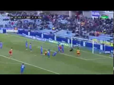 Getafe Vs Barcelona 2-5 All Goals & Match Highlights [December 22-2013]