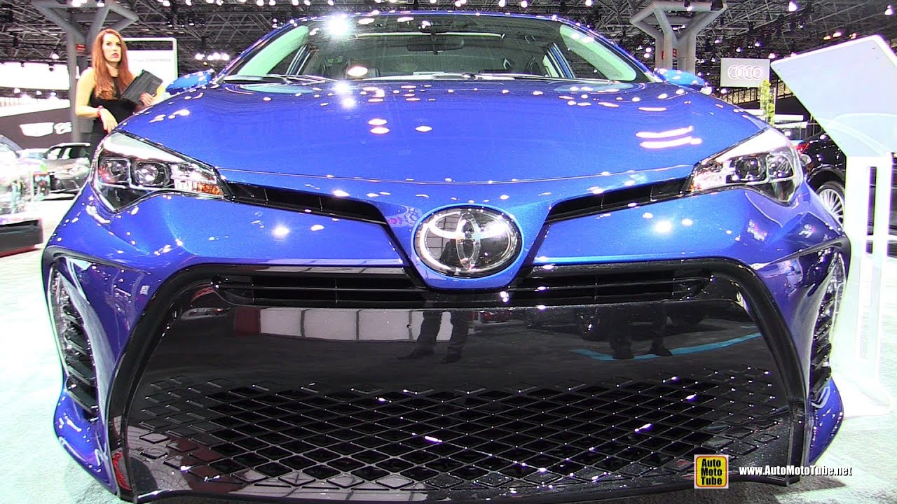 2017 Toyota Corolla Xse Exterior And Interior Walkaround 2016 New York Auto Show Youtube