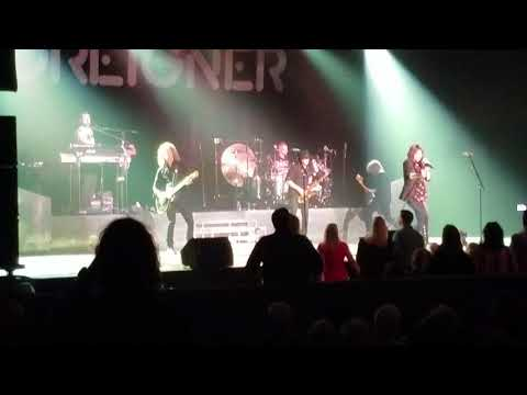 Foreigner - Urgent 2/25/17 Crown Theatre Fayetteville NC