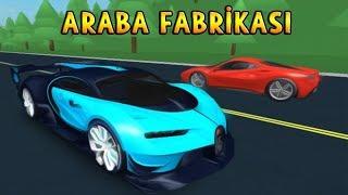 Ich baue EINE CAR-FABRIK! 99999.9999 TL LOFT AUTO! - Roblox