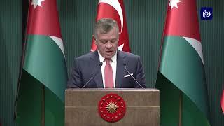 مباحثات أردنية تركية موسعة بقيادة الملك وأردوغان - (6-12-2017)