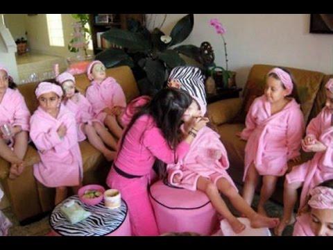 Como organizar una fiesta spa infantil youtube - Como preparar un cumpleanos infantil en casa ...