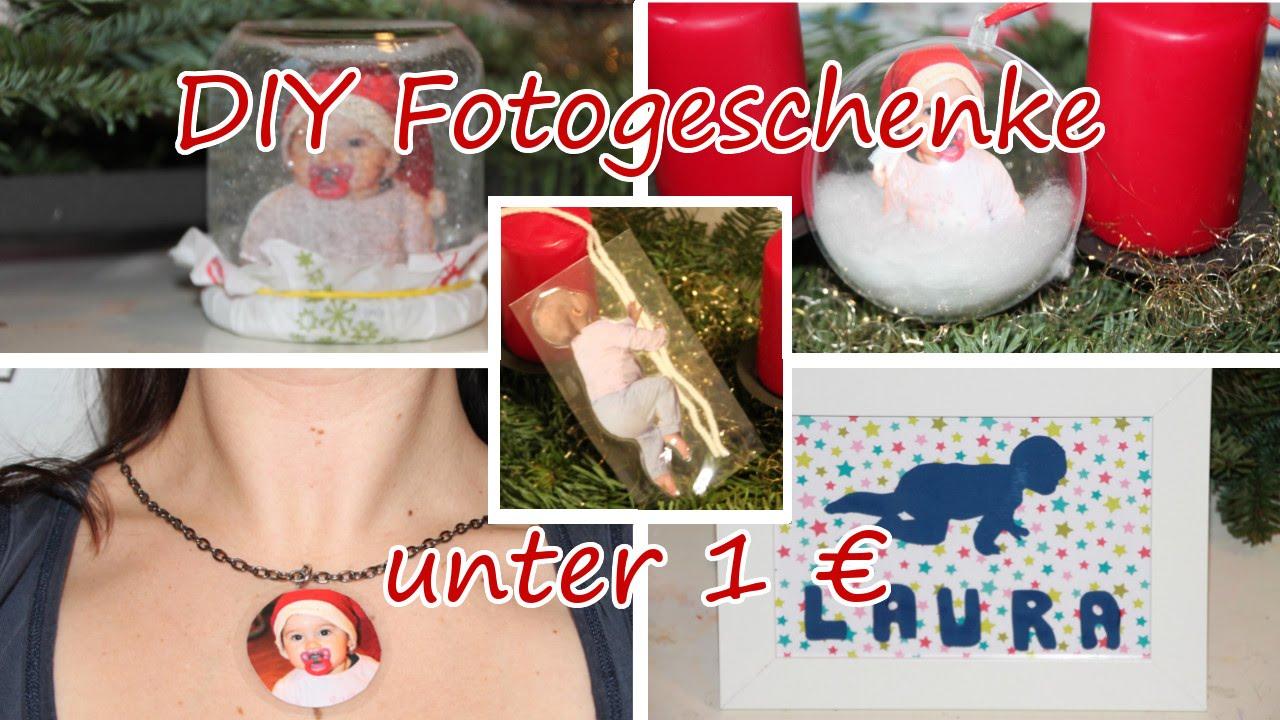 5 fotogeschenke unter 1 € selber machen /weihnachten/ diy photo gift