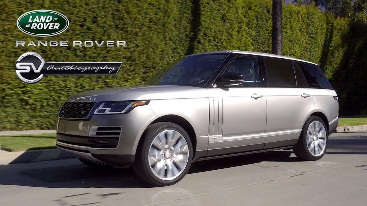 Range Rover Long Wheelbase >> 2018 Land Rover Range Rover Svautobiography Lwb