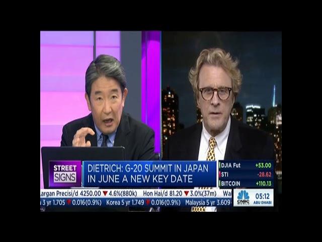 Paul Dietrich   CNBC International 05 13 2019 Part 1