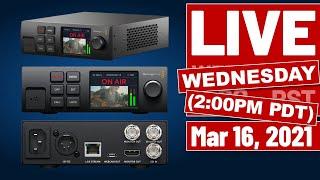 Blackmagic Web Presenter HD LIVE with PhotoJoseph