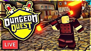 🔴DUNGEON QUEST WITH DRAGOSH / TRADING AND GRINDING WITH SUBSCRIBERS (ROBLOX)