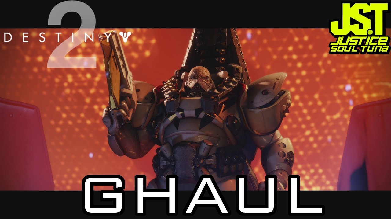 Destiny 2- Ghaul Final Boss Fight (Xbox One gameplay) | JusticeSoulTuna
