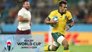 Rugby World Cup 2019: Australia vs. Georgia   EXTENDED HIGHLIGHTS   10/11/19   NBC Sports