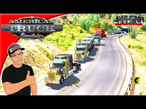 American Truck Simulator Event Operation Big Sur #1 Live Stream Highlights