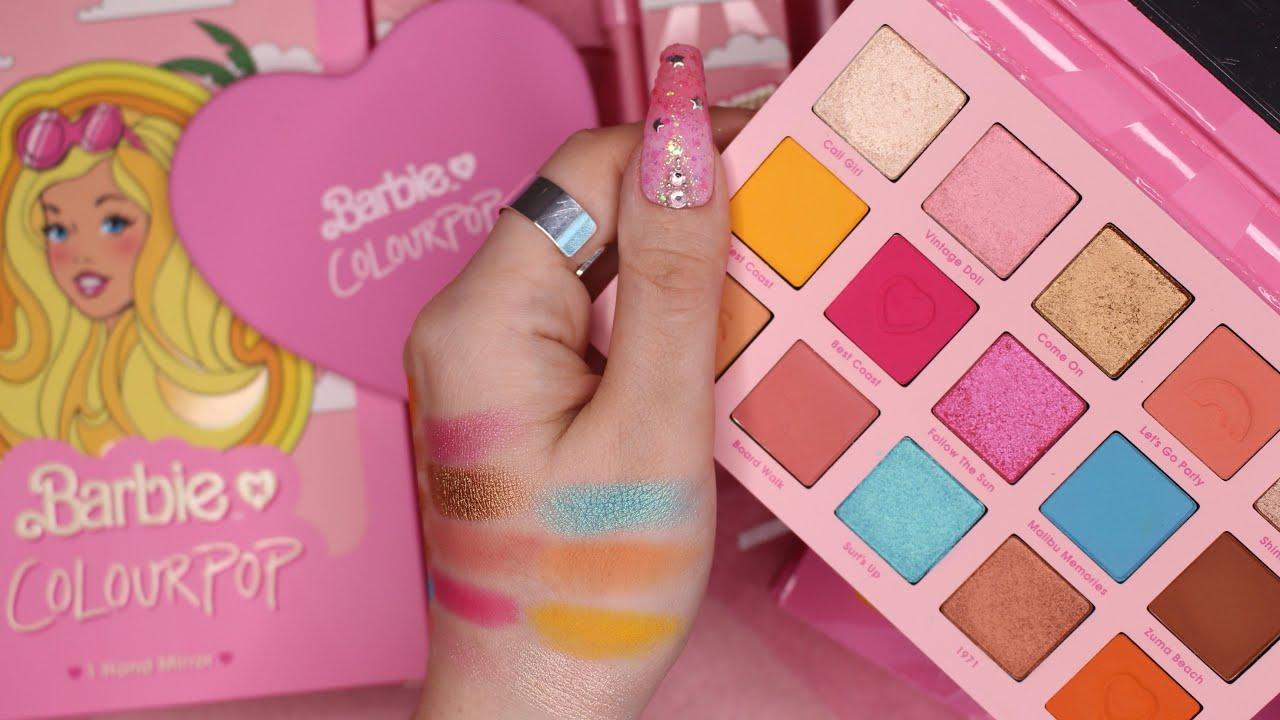 ASMR Barbie X Colourpop Collection 💖
