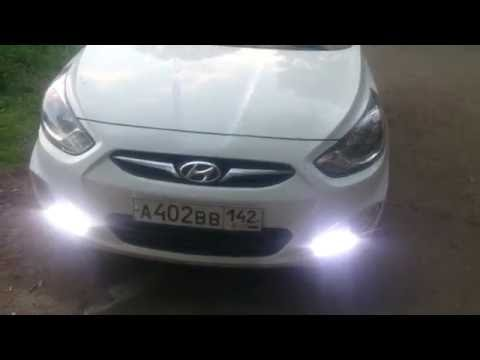 Правильные ДХО Хендай Солярис Hyundai Solaris c 2011 г.