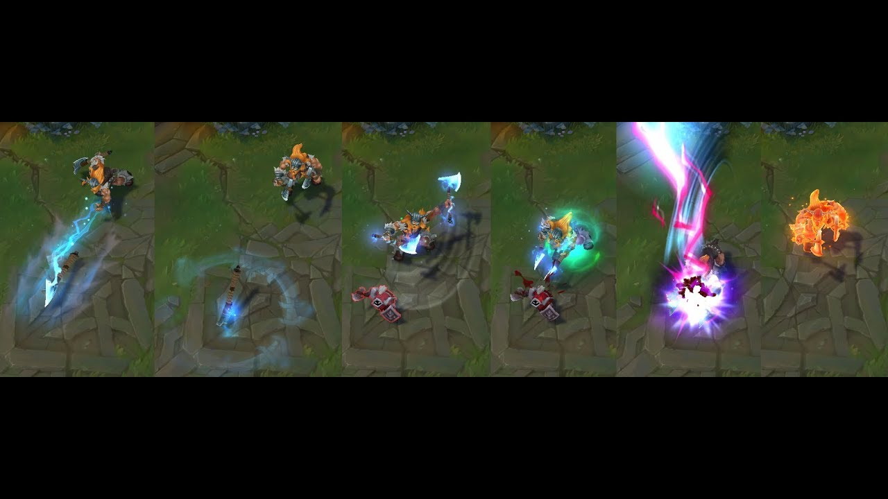 Visual Effect Updates: Kennen, Olaf, Wukong and Riven