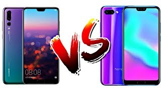 Huawei P20 pro vs Honor 10