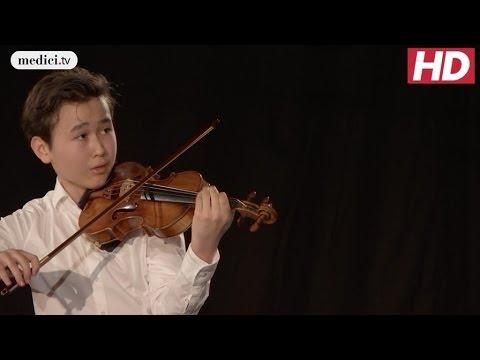 Daniel Lozakovich - Partita for Solo Violin No. 2 - Bach: Verbier Festival 2016