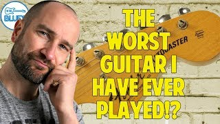 The WORST Guitar I Have Ever Played? - 5 Quick Questions #5