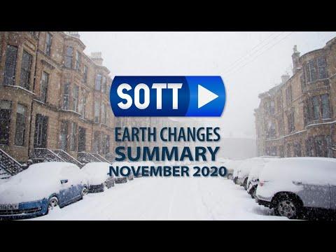 SOTT Earth Changes Summary - November 2020: Extreme Weather, Planetary Upheaval, Meteor Fireballs