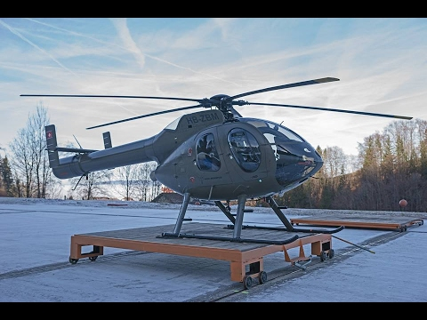 helicopter flight to sörenberg over the swiss alps (3. january 2017)
