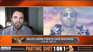 Undefeated bantamweight Miles Johns talks LFA 28 matchup Dec. 8