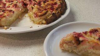 Пирог с Яблоками и Красной Смородиной