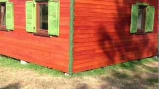 Petros-bud Łukasz Petrus Domek z drewna