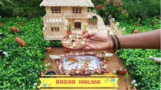 Bread Halwa|| EP#31||Tiny Chutti Cooking