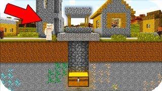 FAKİR KUYUNUN ALTINDA GİZLİ BİR HAZİNE BULDU! 😱 Minecraft
