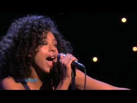 Corinne Bailey Rae performs 'Closer' on Ellen Show - 01/28/10
