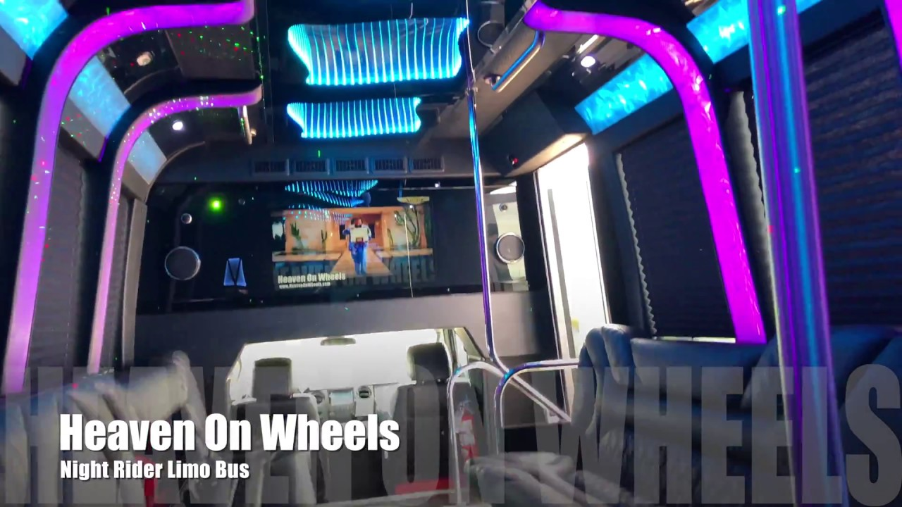 Heaven On Wheels | Dallas Party Bus Limo Bus Service | Rent a Party