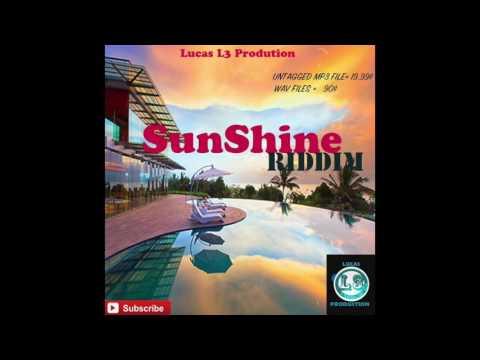 Sunshine riddim-dancehall instrumental beat 2016 (prod.by Lucasl3production