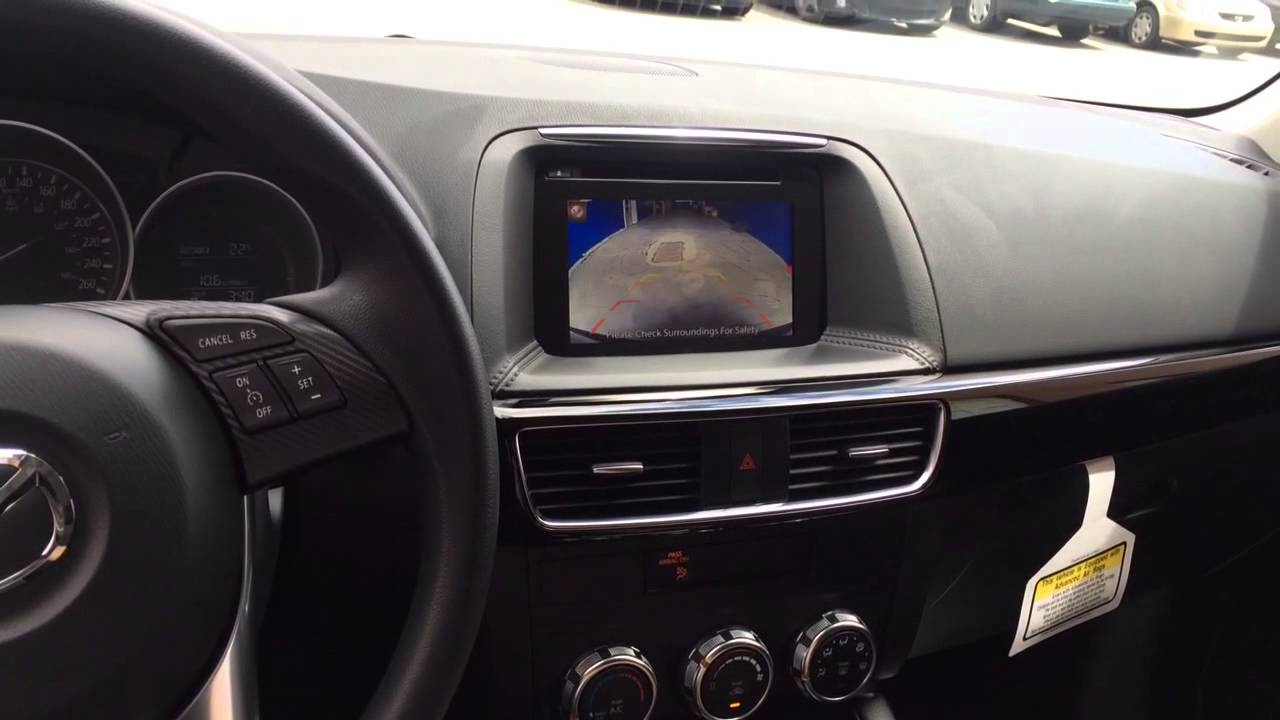 Mazda Cx 5 Backup Camera >> Mazda Cx 5 2015 2016 Installation Backup Camera Youtube