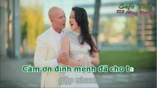 Định mệnh anh và em - Phan Đinh Tùng ft. Thái Ngọc Bích [ Karaoke ] dual