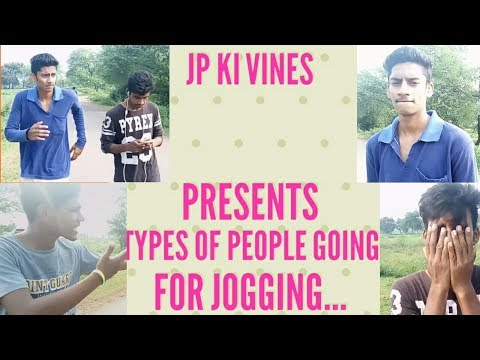 Jogging Video Funny | Different People While Jogging | JP Ki Vines