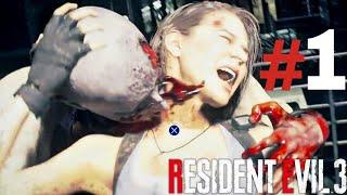 Resident Evil 3 - Death Scenes | Ryona#1