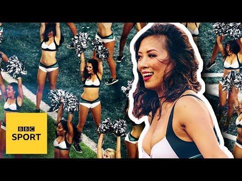 Life as an NFL cheerleader with the Philadelphia Eagles - BBC Sport