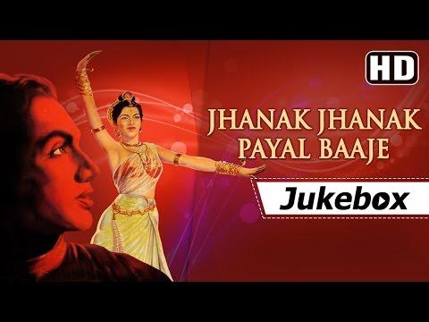 Jhanak Jhanak Payal Baje [1955] Songs | Sandhya - Gopi Krishna | Lata Mangeshkar Hits [HD]