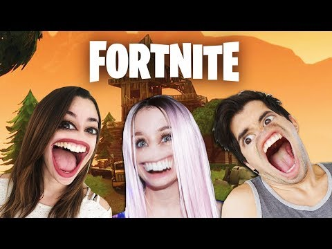 GERMAN + LYNA + LENAY JUEGAN FORTNITE!!