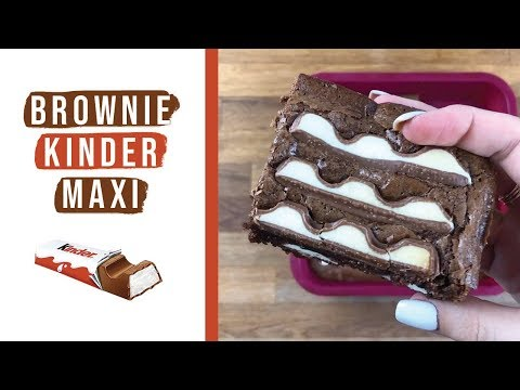 recette-brownie-kinder-maxi