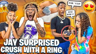 JAY SURPRISED HIS NEW CRUSH WITH A RING & TORY GOT TURNED DOWN!💔
