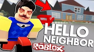 HELLO NEIGHBOR IN ROBLOX! | NEW ALPHA 2 UPDATE!